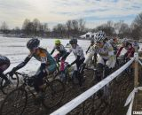 Collegiate D1 and D2 Women, 2013 Cyclocross National Championships. © Cyclocross Magazine