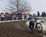 Antonneau flying the Marion colors on Saturday to win the D1 title.  © Cyclocross Magazine