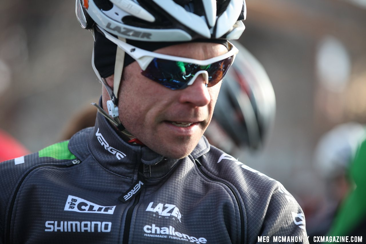 Jonathan Page took off and never looked back at 2013 Cyclocross National Championships.© Meg McMahon