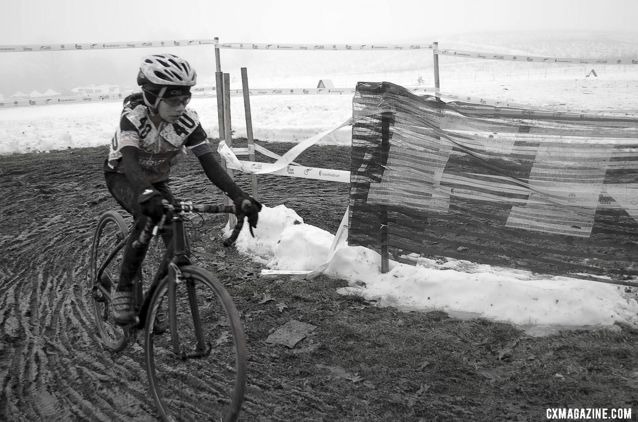 Junior Women 10-12, 2013 Cyclocross National Championship. © Cyclocross Magazine
