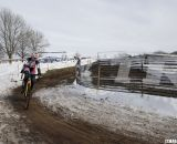 Gibson out to an early lead. 2013 Cyclocross National Championships. © Cyclocross Magazine