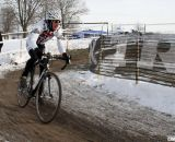 Charles Townsend from MN took control of the 60-64 race. 2013 Cyclocross National Championships. ©Cyclocross Magazine