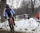 Kevin McConnell chasing. Masters 30-34. 2013 Cyclocross National Championships. © Cyclocross Magazine