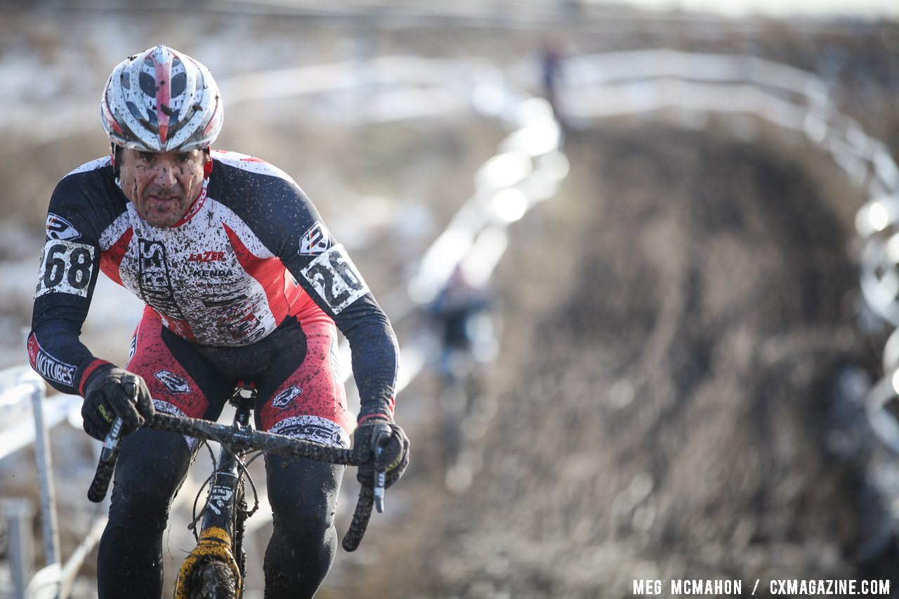 Kenny Wehn Masters Men 40-44, 2013 Cyclocross Nationals. © Meg McMahon