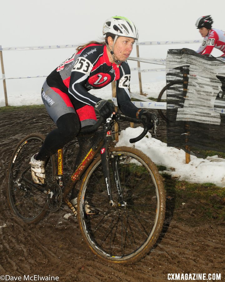 Masters Women 30-34. 2013 Cyclocross Nationals. © Dave McElwaine