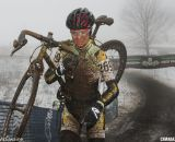 Ellen Sherrill would finish just off the podium in 6th. Masters Women 30-34. 2013 Cyclocross Nationals. © Dave McElwaine