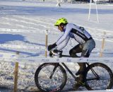 Craig with some daylight on the field. 2013 Singlespeed Cyclocross National Championships. © Cyclocross Magazine