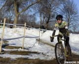 Ellen Sherrill of South Lake Tahoe started the Bicycle Bluebook / HRS / Rock Lobster strong showing in the singlespeed races. © Cyclocross Magazine