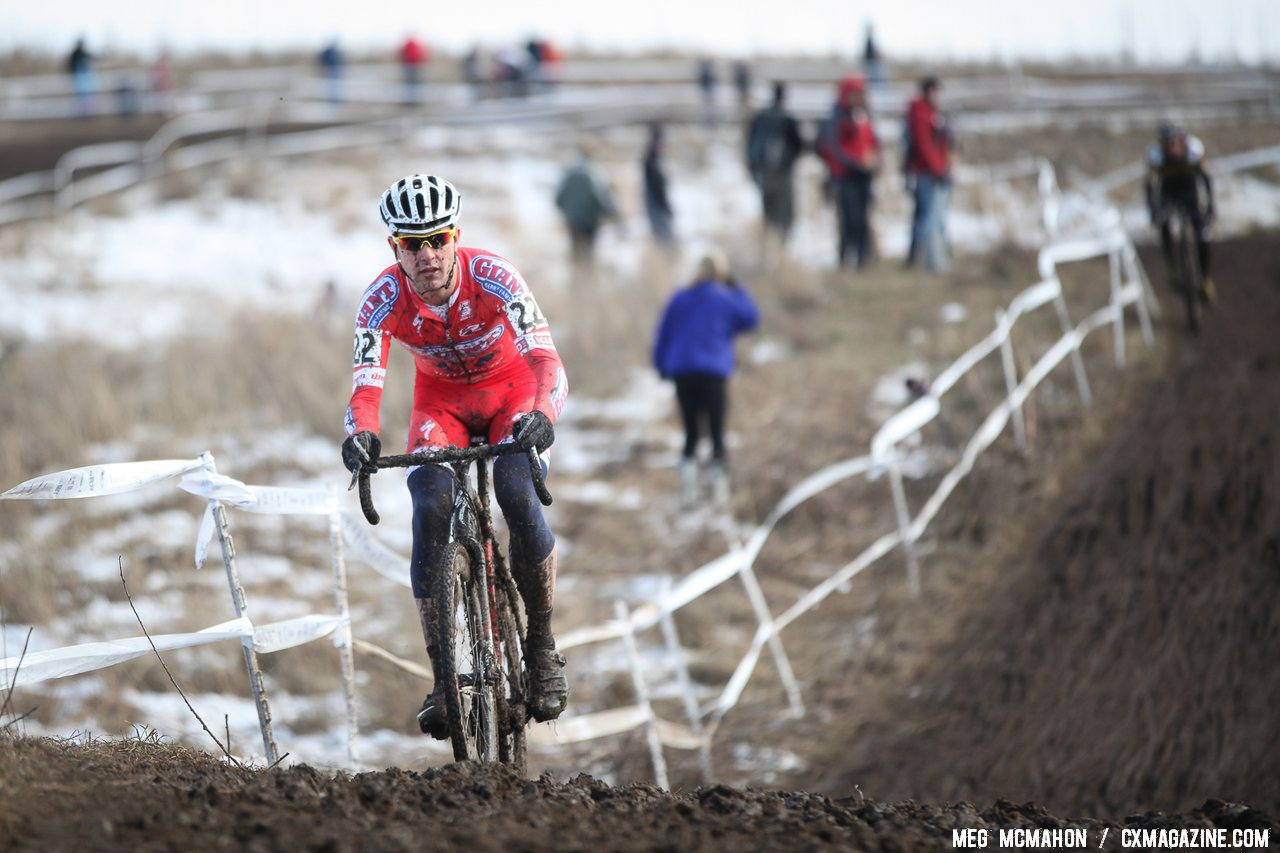 Eckmann with an early big lead. U23 Men, 2013 National Championships. © Meg McMahon