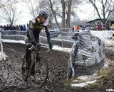 Trujillo in the mud. U23 Men, 2013 Cyclocross National Championships. © Cyclocross Magazine