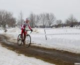 Sue Butler returned to racing, winning her first race of the hear and a Masters Women 40-44 title. © Cyclocross Magazine