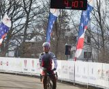 Butler takes another Masters National Championship. Masters Women 40-44, 2013 National Championships. © Cyclocross Magazine