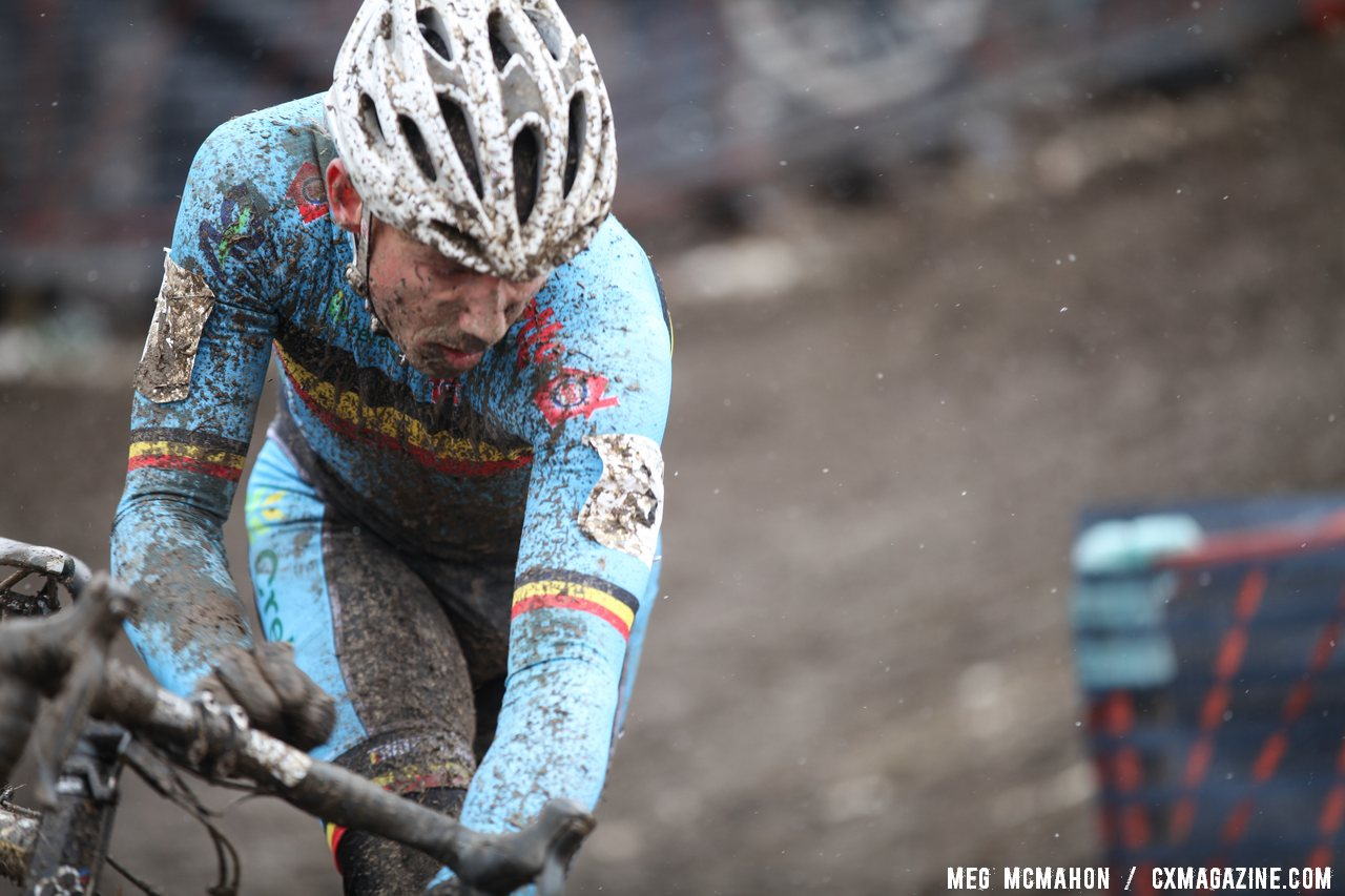 Sven Nys played a tactically perfect race © Meg McMahon