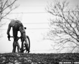 Once Sven Nys got the gap over Vantornout, the race was over © Meg McMahon
