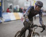 Jeremy Powers wrapped up a strong season with a lackluster ride © Meg McMahon