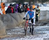 Kevin McConnell leads Thomas Turner in their chase of Tom Burke. © Cyclocross Magazine