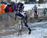 Tom Burke chases early leader Kevin McConnell. © Cyclocross Magazine
