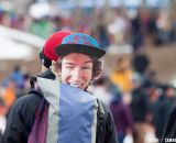 Drew Dillman rode on the backs of many fans. © Cyclocross Magazine