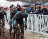 Michael Vanthourenhout led the Belgian train in their chase for