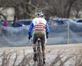 The deep mud made for slow riding