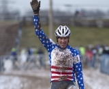 This is Tilford's second World Masters title in Cyclocross © Cyclocross Magazine
