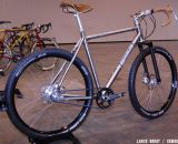 Could this monster be the 2013 Best Cyclocross bike at NAHBS 2013? Twenty2 Cycles' titanium 650b monster cross bike. © Lance Barry / Cyclocross Magazine