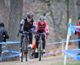 At the front of the race, the lead of Kemmerer and White grows. © Meg McMahon