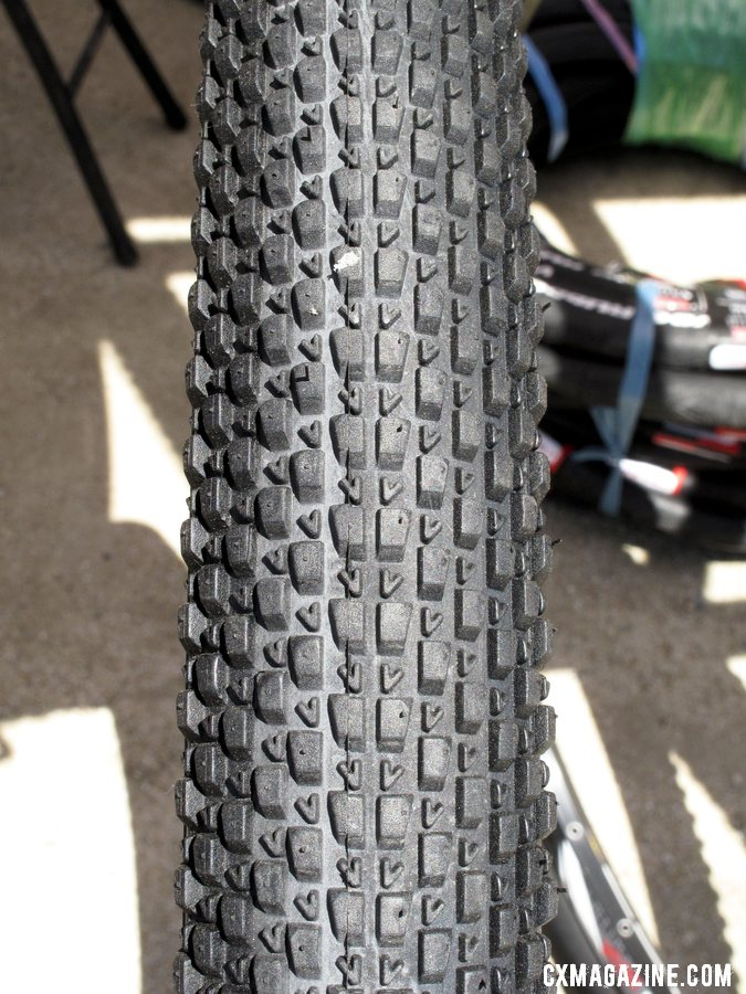 The V12, one of eight new 700c treads coming to you from Vee Rubber this fall. ©Cyclocross Magazine