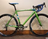 The $1550 Raleigh 2013 Men's RX 1.0 Cross Bike brings SRAM Apex and Rival to a highly visible aluminum frame. © Cyclocross Magazine