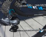 The RXC Pro Disc features a Ultegra Di2 drivetrain and internal wiring. ©Cyclocross Magazine