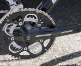 An FSA Vero compact crankset may not be ideal for racing but is what dealers and customers not focused just on racing prefer. Sea Otter 2012. ©Cyclocross Magazine