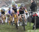 Sanne Cant (Enertherm-BKCP) leads the field. © Bart Hazen
