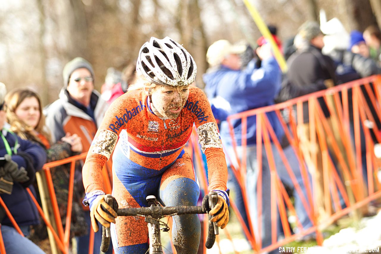 Sanne van Paassen finished 5th © Cathy Fegan-Kim