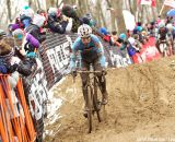 Kevin Pauwels was looking strong before his mechanical © Cathy Fegan-Kim