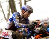 Jeremy Powers didn't race to his expectations, but was happy with the crowds © Cathy Fegan-Kim