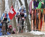 Compton and Nash battling for the podium © Cyclocross Magazine