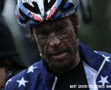 Jonathan Page's face says it all. © Bart Hazen / Cyclocross Magazine