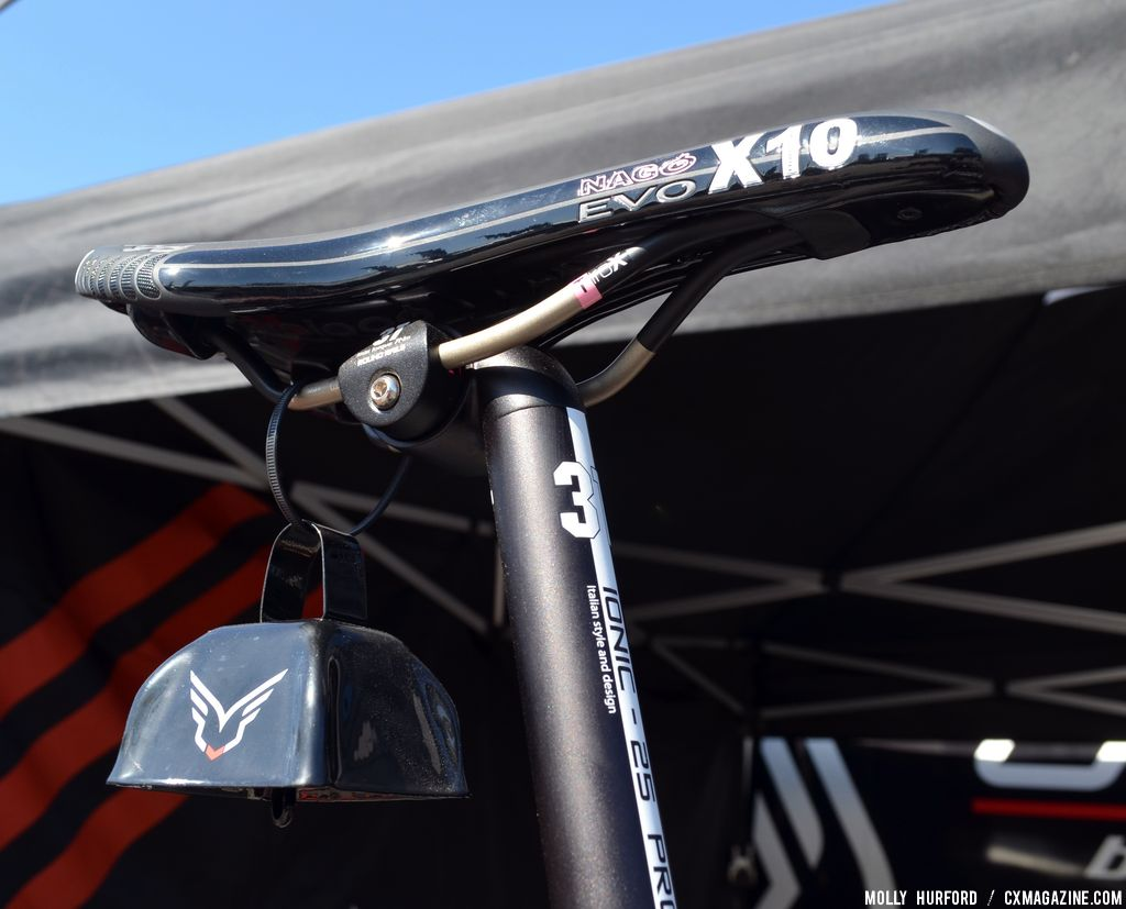 Nago Evo X10 at the 2014 Felt F2X at Sea Otter 2013. © Cyclocross Magazine