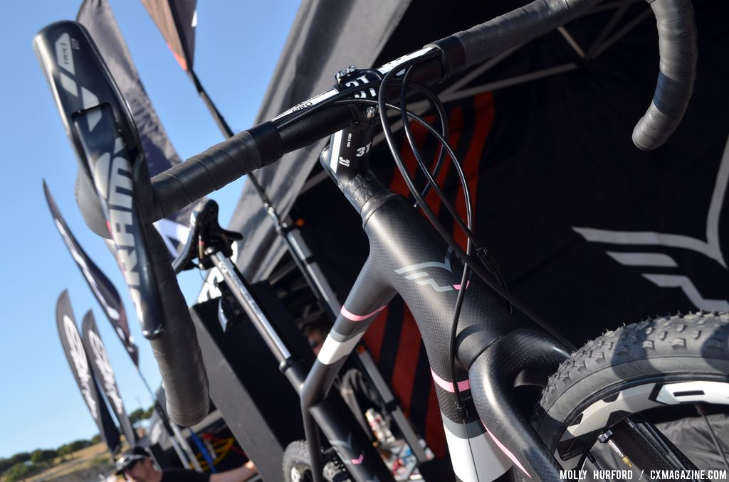 3T handlebars on the  2014 Felt F2X at Sea Otter 2013. © Cyclocross Magazine
