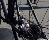 Disc brakes were the norm for Felt's new 'cross options. 014 Felt F5X at Sea Otter 2013. © Cyclocross Magazine