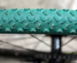 Portuguese rider Isabel Marisa Morgado Caetano had no idea her tires were collector's items. © Cyclocross Magazine