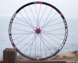 The ultimate dual-duty mtb/cx wheelset? Reynolds 29R XC carbon disc brake tubeless wheels, with 375g rims, 1525g wheelset. Hubs adapt for thru axle or quick release. © Cyclocross Magazine