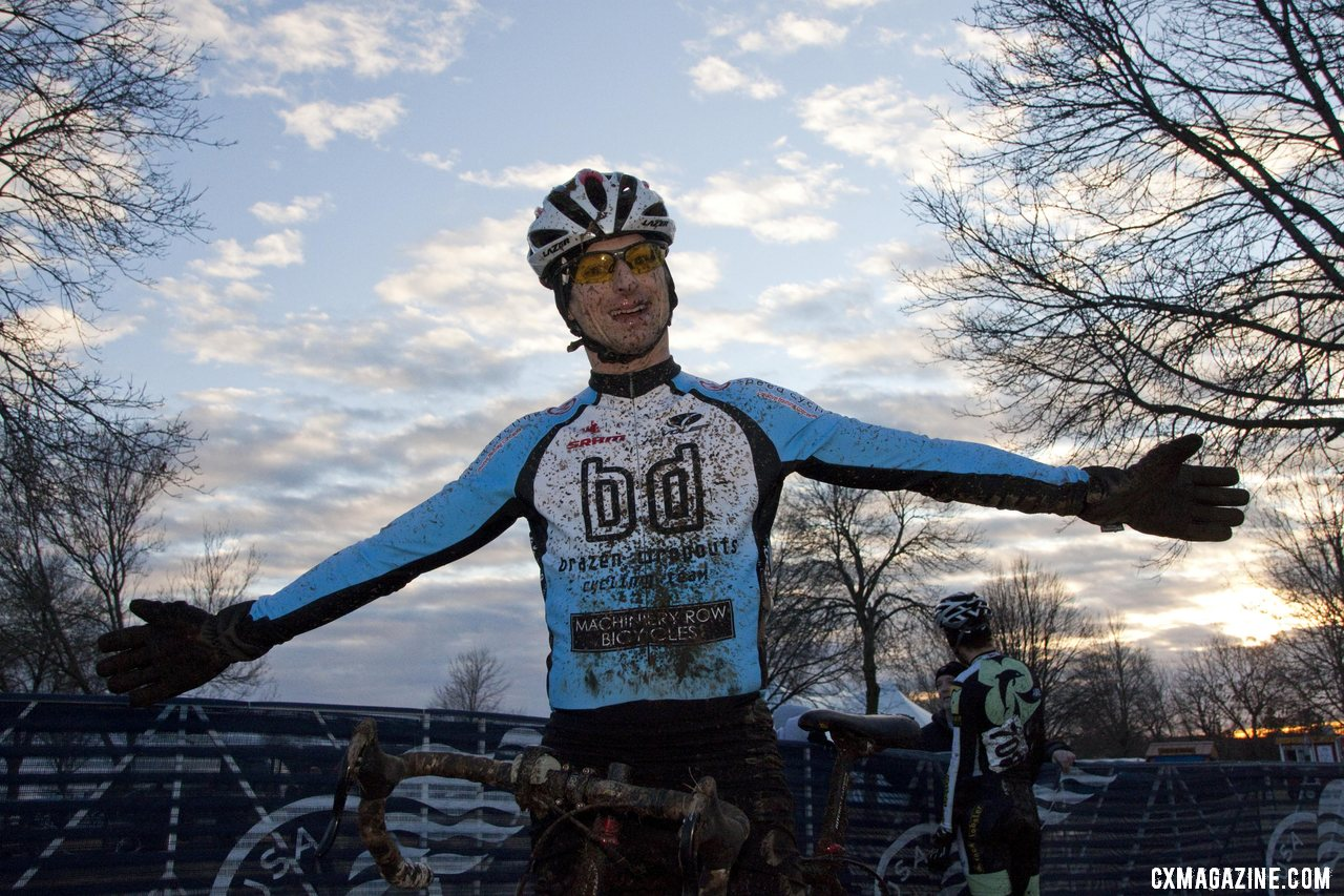 A local Madison racer takes advantage of mid-week racing. © Cyclocross Magazine