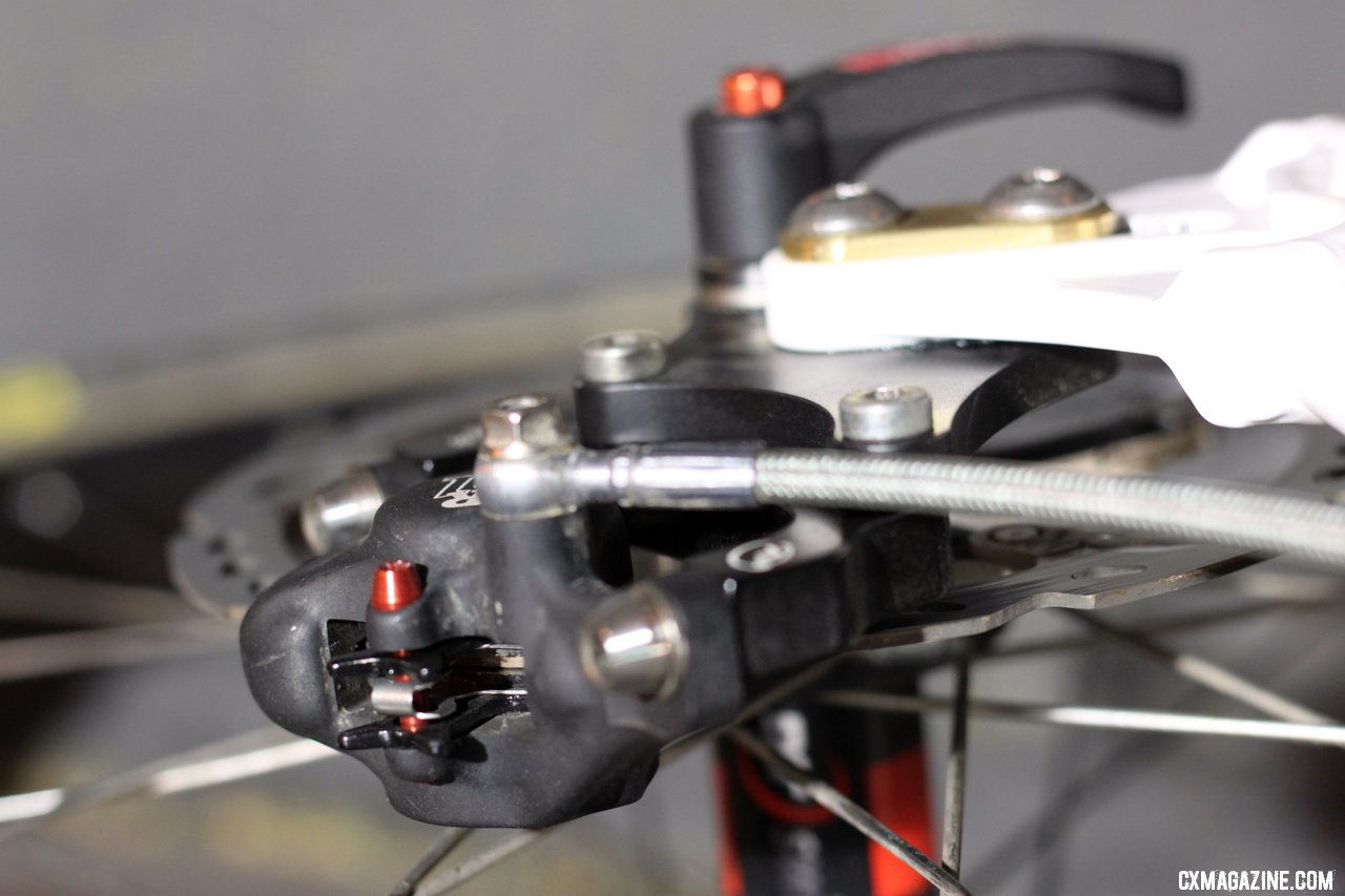 Summit Lab\'s 324 Brake Adapter. © Cylcocross Magazine