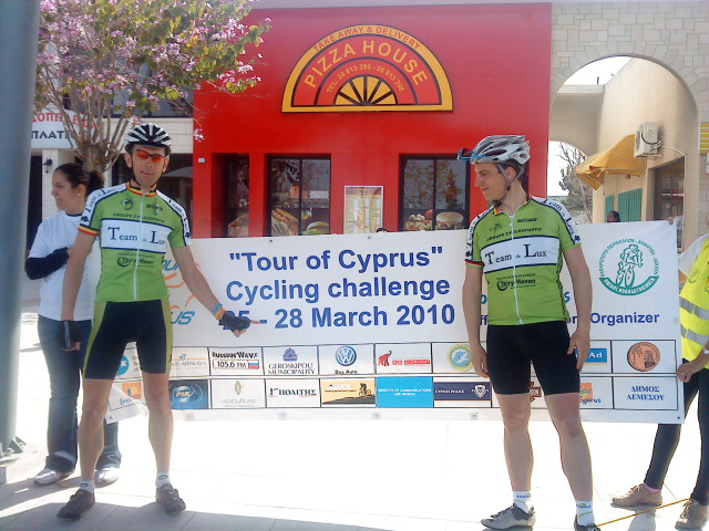 Belgian Team at the Tour of Cyprus. ? Phil Saussus