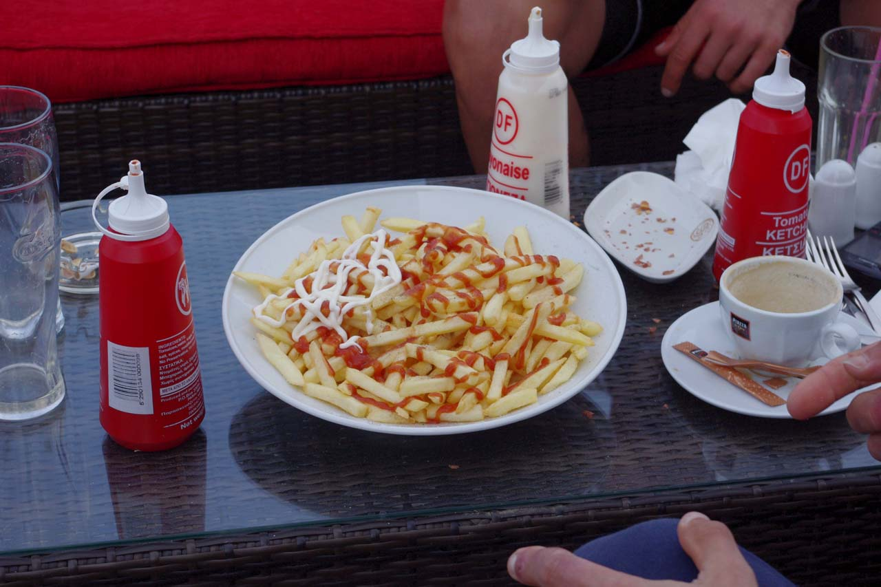 Frites make the best recovery food. ? Jonas Bruffaerts