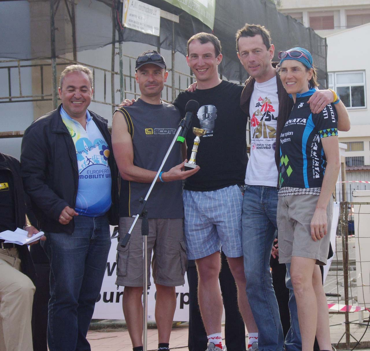 Team Belgium - winners of the mixed team category. ? Jonas Bruffaerts