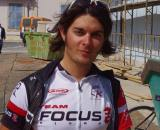 Nati Hortig of Team Focus-Israel post-tour.  ? Jonas Bruffaerts