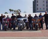 Harley escorts for the tour with Cyprus Doctors volunteers. ? Jonas Bruffaerts