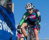 Amanda Nauman (SDG / Felt) races the 2014 USAC Cyclocross National Championships.  Nauman finished 13th